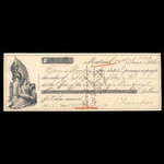 Canada, Bank of Montreal, 113 dollars, 60 cents <br /> June 24, 1861