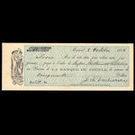 Canada, Banque du Peuple (People's Bank), 50 dollars <br /> October 8, 1862