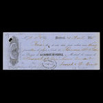 Canada, Banque du Peuple (People's Bank), 70 pounds <br /> April 25, 1855