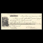 Canada, Banque du Peuple (People's Bank), 919 dollars, 74 cents <br /> January 29, 1861