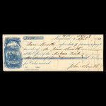 Canada, Molsons Bank, 500 dollars <br /> April 5, 1860
