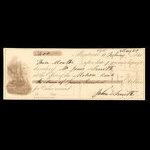 Canada, Molsons Bank, 400 dollars <br /> February 17, 1860