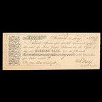 Canada, Molsons Bank, 171 dollars, 42 cents <br /> May 23, 1862