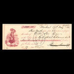 Canada, Bank of British North America, 5,000 dollars <br /> May 27, 1862