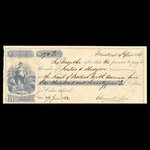 Canada, Bank of British North America, 174 dollars, 9 cents <br /> December 4, 1861