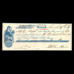 Canada, Bank of British North America, 303 dollars, 62 cents <br /> March 19, 1861