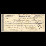 Canada, Commercial Bank of Canada, 1,000 dollars <br /> May 9, 1863
