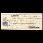 Canada, Commercial Bank of Canada, 2,200 dollars <br /> April 1, 1863