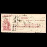 Canada, Ontario Bank, 290 dollars <br /> June 6, 1863