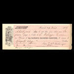 Canada, Banque Jacques-Cartier, 65 dollars <br /> March 24, 1863