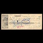 Canada, Western Bank of Canada, 100 dollars <br /> October 20, 1897