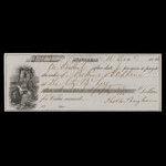 Canada, City Bank (Montreal), 150 dollars <br /> December 16, 1854