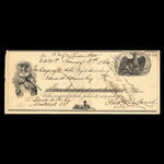 Canada, Fred Rowland, 420 dollars <br /> January 3, 1862
