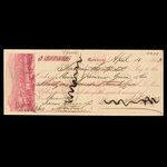 Canada, David A.P. Watt, 3,125 dollars <br /> April 4, 1863