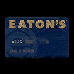 Canada, Eaton's, no denomination <br /> 1998