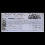 Canada, Bank of New Brunswick, 180 pounds <br /> February 24, 1863