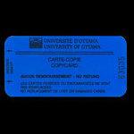 Canada, University of Ottawa, no denomination <br /> 1996