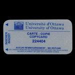 Canada, University of Ottawa, no denomination <br /> 1999