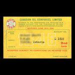 Canada, Canadian Oil Companies, Limited, no denomination <br /> 1946