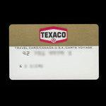 Canada, Texaco Inc., no denomination <br /> 1987
