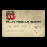United States of America, Phillips Petroleum Company, no denomination <br /> August 1970