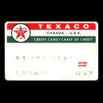 Canada, Texaco Inc., no denomination <br /> October 1967