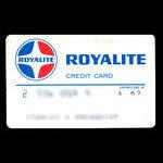 Canada, Royalite Oil Company, Limited, no denomination <br /> April 1967