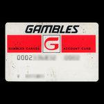 Canada, Gambles Canada Limited, no denomination <br /> 1970