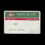 Canada, Radio Oil Limited, no denomination <br /> 1975
