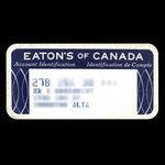 Canada, Eaton's, no denomination <br /> 1965