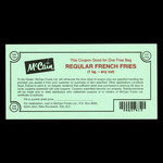 Canada, McCain Foods Ltd., 1kg bag, french fries <br /> 1989