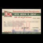 Canada, British American Oil Company Limited, no denomination <br /> 1950