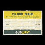 Canada, Subway Restaurant <br /> 1997