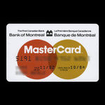 Canada, Bank of Montreal, no denomination <br /> November 1982