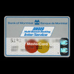 Canada, Bank of Montreal, no denomination <br /> December 1988