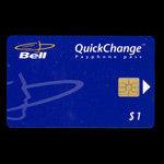 Canada, Bell Canada, 1 dollar <br /> January 1996