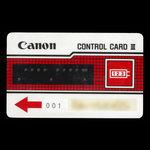 Canada, Canon, no denomination <br /> 1985