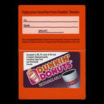 United States of America, Dunkin Donuts, no denomination <br /> 2005