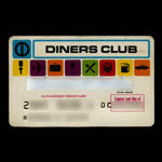 United States of America, Diners Club, no denomination <br /> September 1968