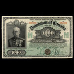 Canada, Dominion of Canada, 1,000 dollars <br /> January 2, 1901