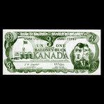 Canada, unknown, 1 dollar <br /> 1993
