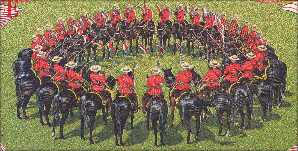 RCMP Musical Ride on the back of the 1979 $50 bill