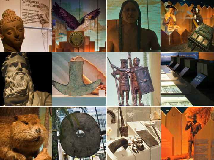Museum galleries collage