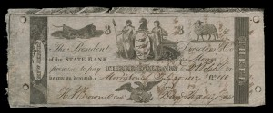U.S.A., unissued counterfeit notes, early 19th century