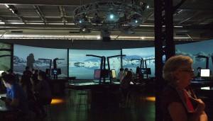 Mission Gaia exhibition and games space / Mission Gaia : à la fois une exposition et un jeu spatial