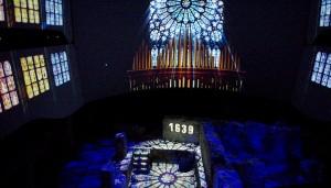 Church images denote establishment of first church in Montréal / Images servant à illustrer la fondation de la première église à Montréal