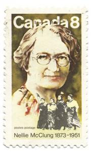 Nellie McClung, feminist and activist