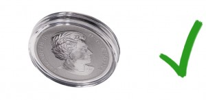 Acrylic cases seal coins and bills from exposure to pollutants and contact
