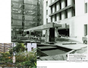 Garden Court Under Construction / Jardin en construction