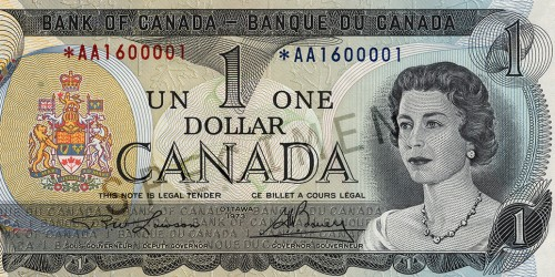 Scenes Of Canada Series 1 Note